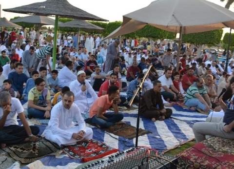 بالصور  الآلاف يؤدون صلاة عيد الفطر بالشرقية