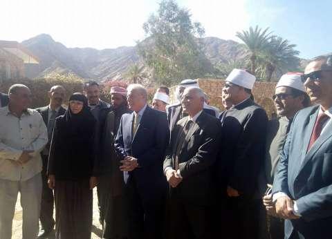"""محافظ جنوب سيناء: حريصون على تأمين الراهبات بدير """"السبع بنات"""""""