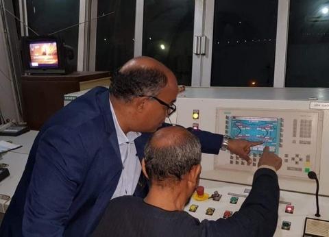 """رئيس قطاع الخزانات بـ""""الري"""" في جولة تفقدية لقناطر إسنا الجديدة"""