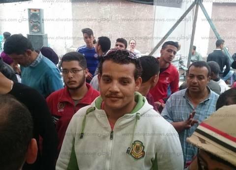 زحام أمام لجان السلام ببولاق أبو العلا بسبب غلقها للصلاة