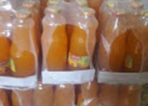 ضبط 5 آلاف زجاجة عصير و60 كيلو أغذية فاسدة في المنوفية