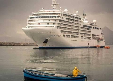 ميناء غرب بورسعيد يستقبل السفينة JUDI ALAMAR لتفريغ 27500 طن ذرة