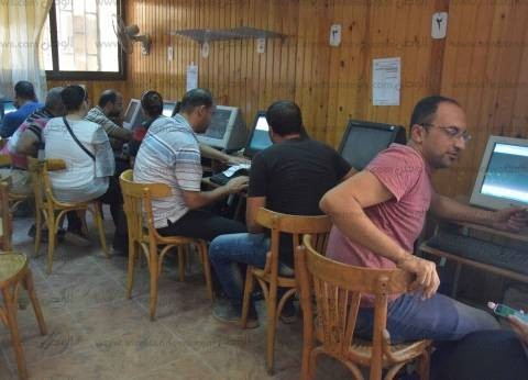 زحام في تنسيق الشريحة الثانية بالمرحلة الأولى في جامعة المنصورة