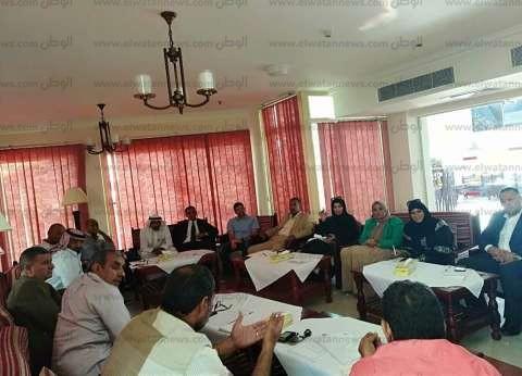 """إعلان أعضاء هيئة مكتب """"مستقبل وطن"""" في جنوب سيناء"""