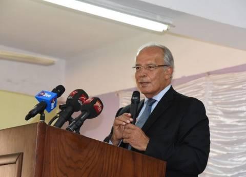 وزير التنمية المحلية يتفقد مقر جامعة سوهاج الجديدة