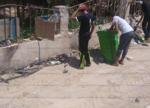 انطلاق فعاليات المعسكر الصيفي للنظافة بمدينة الطور في جنوب سيناء