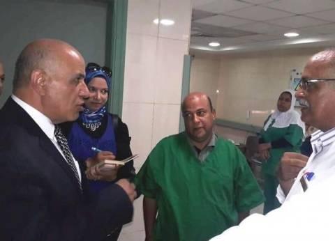 """وكيل """"صحة الإسكندرية"""" يتفقد سير العمل في مستشفى العامرية"""