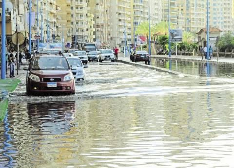 الحكومة تنتفض لمواجهة الأمطار.. و«الأرصاد»: سيول على القاهرة اليوم