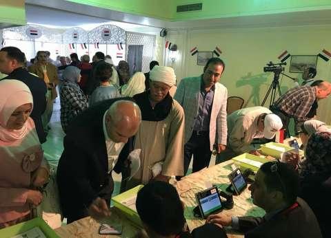 """""""علشان تبنيها"""" تشيد بالإقبال الكبير للمصريين بالخارج على التصويت"""