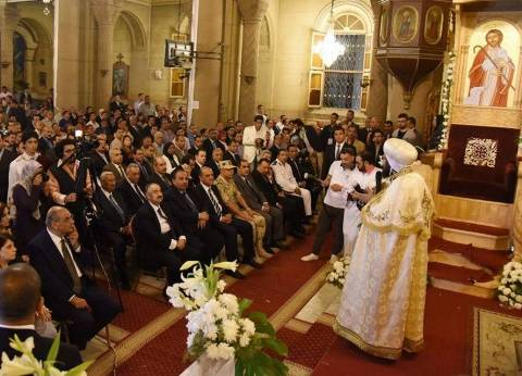 قوات أمن الإسكندرية تعزز التواجد بكنيسة المرقسية