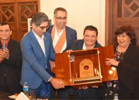 وزيرة الثقافة تصل البحيرة لافتتاح مهرجان دمنهور للفلكلور