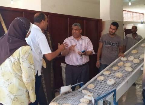 بالصور| مخابز نموذجية بمطروح تبدأ تجارب إنتاج الخبز الشامي
