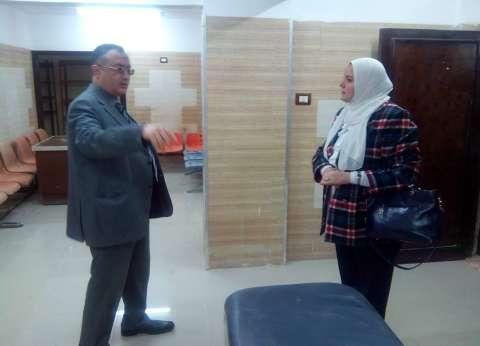 المشرف على لجان الكبد بالتأمين الصحي يتفقد مركز سيكم الطبي في بلبيس