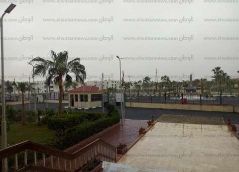 بالصور| طقس سيئ وسقوط أمطار متوسطة جنوب سيناء