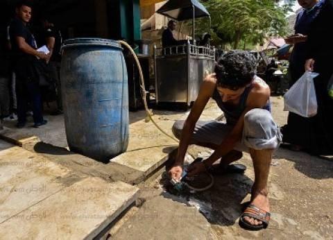 أزمة مياه تضرب بعض مناطق فيصل.. والأهالى: «تعبنا من الشكوى»