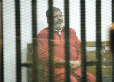 """تأجيل إعادة محاكمة مرسي وآخرين في """"التخابر مع حماس"""" إداريا لـ 26 أبريل"""