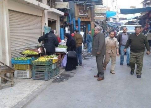 تحرير 513 محاضر إشغال وإزالة إدارية بمدينة أسيوط خلال 3 أيام