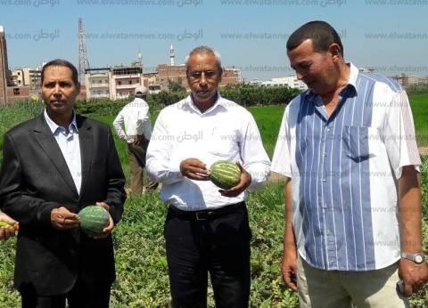 وكيل تعليم البحيرة يتفقد مدرسة الزراعة في دمنهور