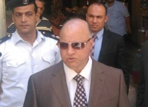 """أهالي """"الزاوية"""" يستقبلون محافظ القاهرة بالزغاريد والطبل"""