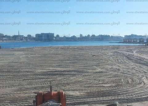 بالصور| شواطئ مطروح تستعد لاستقبال روادها في شم النسيم
