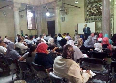 الجامع الأزهر يستقبل الحجاج ويشرح لهم المناسك