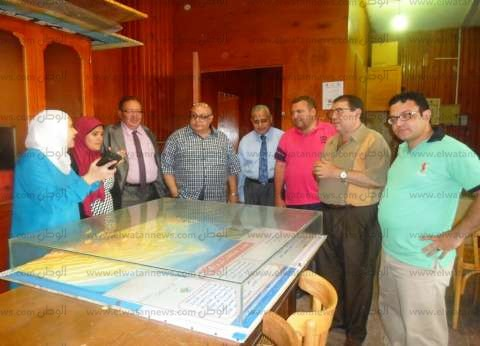 مجلس مدينة أشمون يوقع بروتوكول تعاون مع قسم الجغرافيا بكلية الآداب