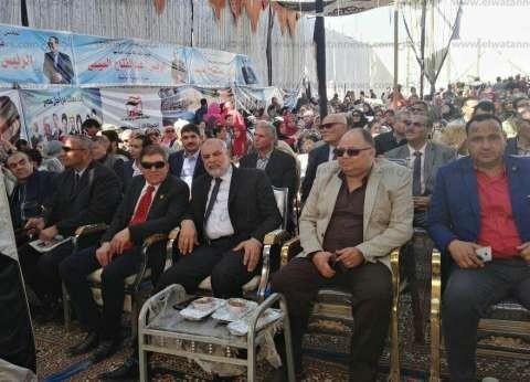 """""""المصريين الأحرار"""" ينظم مؤتمرا حاشدا لتأييد الرئيس بالقليوبية"""