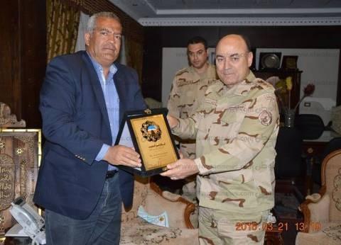 """الفريق أسامة عسكر: """"المقاولون العرب"""" يد الوطن في البناء والتنمية"""