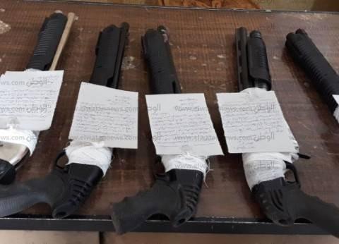 الأمن العام: ضبط 115 قطعة سلاح بحوزة 109 متهمين