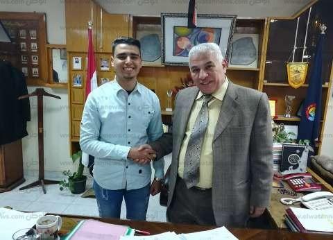 وكيل تعليم البحيرة يستقبل رئيس لجنة العلاقات العامة باتحاد طلاب مصر