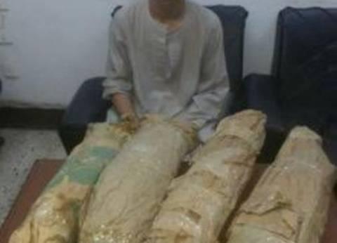 ضبط تاجر مخدرات بحوزتح 7.5 كيلوجرام بانجو بالدقهلية