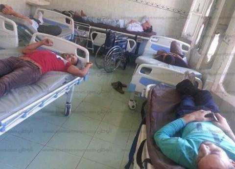 إضراب 5 موظفين بسوهاج عن الطعام لعدم صرف مستحقاتهم المالية