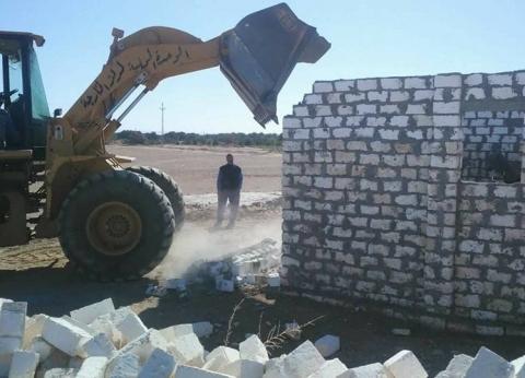 إزالة 107 حالة تعدي على الأراضي الزراعية بـ3 مراكز في المنيا
