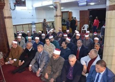 محافظ الإسماعيلية يشهد احتفال مديرية الأوقاف بالمولد النبوي الشريف