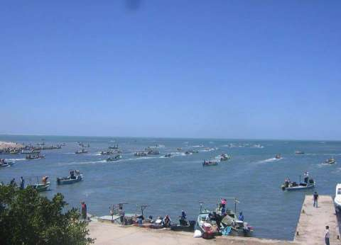 """فتح بحيرة البردويل أمام الصيادين بشمال سيناء.. ومواطن: """"الخير هيعم"""""""