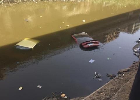 مصدر أمني: سقوط سيارتين في ترعة المريوطية إثر حادث تصادم
