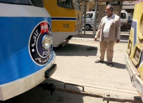 """""""النقل العام"""" بالإسكندرية تعلن بدء تطويل ترام الرمل بـ300 مليون يورو في يوليو"""