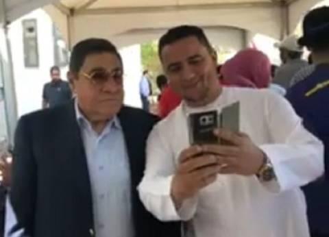 بالفيديو| النائب العام الأسبق يصوت في الانتخابات الرئاسية بالإمارات