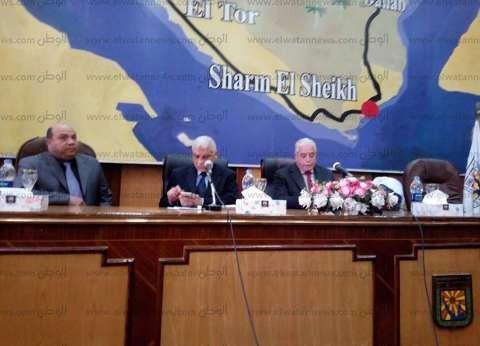 فودة يشكر مميش لدعمه جنوب سيناء بجهاز طبي حديث لتفتيت الحصوات