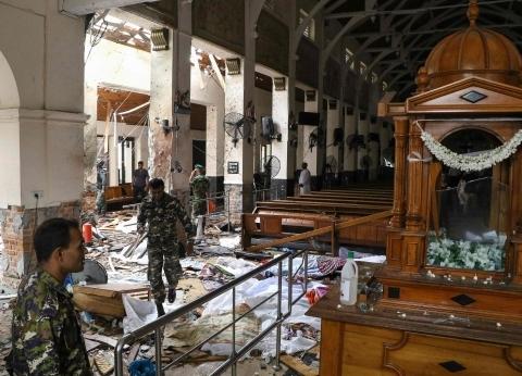 """سريلانكا تتهم """"جماعة التوحيد"""" بالمسؤولية عن تفجيرات أمس"""