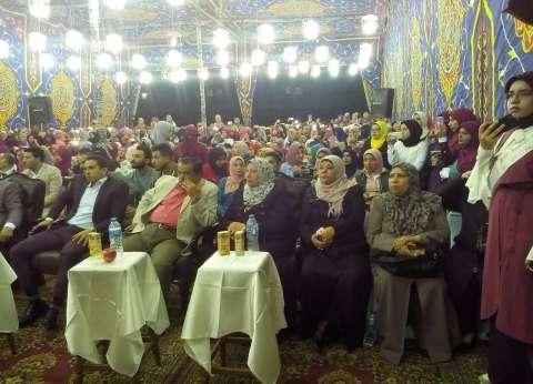 بالصور| أول حفل فني بمدينة الأزهر الجامعية للطالبات بالمولد النبوي
