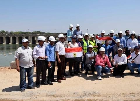 بالصور| اتحاد شباب أسيوط يحتفل بالذكرى الأولى لافتتاح قناة السويس الجديدة