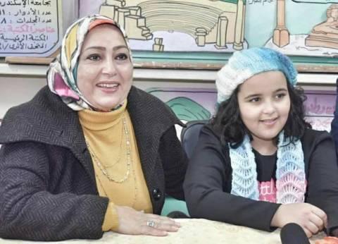 """مدرسة نجمة """"ذا فويس كيدز"""" أشرقت تحتفل بها في الإسكندرية"""