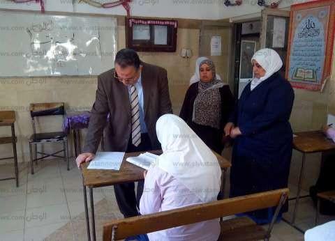 بالصور  مدير التأمين يتفقد لجان امتحانات مدرسة تمريض المبرة بالزقازيق