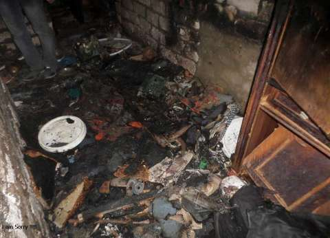 السيطرة على حريق نشب بمنزل فلاح دون إصابات أو وفيات بالفيوم