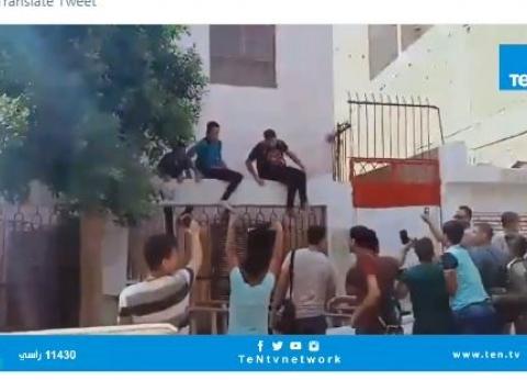 بالفيديو| هروب جماعي لطلاب مدرسة بعد الحصة الأولى