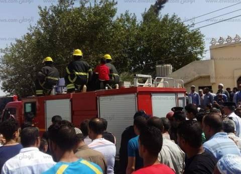 بالصور| محافظ الإسماعيلة ومدير الأمن يتقدمان مشيعي جنازة شهيد سيناء