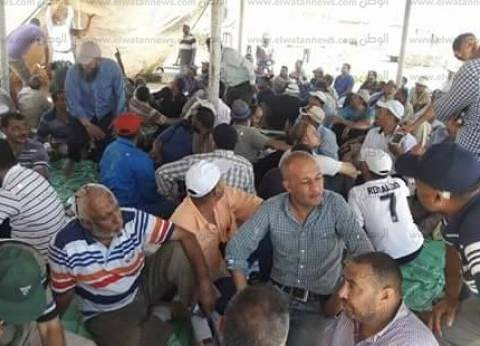 بالصور| اعتصام عمال مصنع الدقهلية للسكر للمطالبة بحقوقهم
