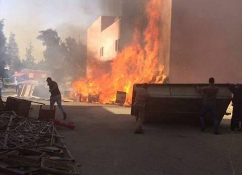 السيطرة على حريق نشب داخل محل تجاري بمركز الداخلة في الوادي الجديد