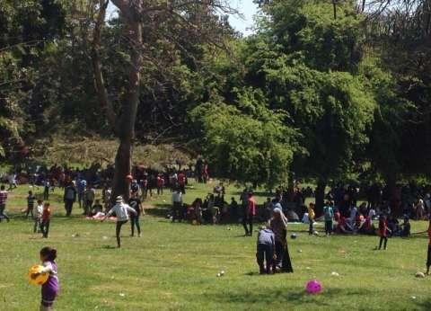 محافظ القليوبية يطمئن على رواد الحدائق من رؤساء المدن والأحياء